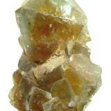 Fluorite Beihilfe Mine, Halsbrücke, Freiberg District, Erzgebirge, Saxony, Germany Specimen height 7,5 cm (Author: Tobi)