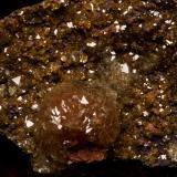 Adamita cobaltífera Mina Ojuela, Mapimí, Durango, México 6x5 cm Detalle de la anterior (Autor: victor chaul chamut)