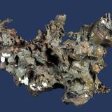 Copper Laurium Mine, Laurium, Houghton County, Michigan, USA 83 x 77 x 30 mm (Author: GneissWare)