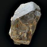 Rutilo<br />Mina Beta, Puerto del Cabril, Hornachuelos, Comarca Valle Medio del Guadalquivir, Córdoba, Andalucía, España<br />Cristal de 4 x 2,5 x 2,5 cm<br /> (Autor: Antonio Carmona)