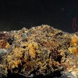 Cerusita, galena<br />Mina Mineralogia, El Molar, Comarca Priorat, Tarragona, Catalunya, España<br />5,5 x 4 x 3 cm<br /> (Autor: Javier Rodriguez)