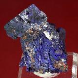 Azurite<br />Red Dome Mine, Chillagoe, Chillagoe-Herberton District, Tablelands Region, Queensland, Australia<br />67 x 40 x 33 mm<br /> (Author: GneissWare)