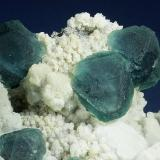 Fluorite with Quartz and Arsenopyrite<br />Huanggang Mines, Hexigten Banner (Kèshíkèténg Qí), Ulanhad (Chifeng), Inner Mongolia Autonomous Region, China<br />120.0 x 92.0 x 45.0 mm<br /> (Author: GneissWare)