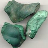 Malachite R.D. Congo 2 x 1 x 5/8 inches 210g, app. (Author: Dale Hallmark)