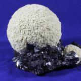 Barite, Sphalerite, Calcite Elmwood Mine, Smith County, Tennessee, USA 17.5 x 15.0 cm (Author: Don Lum)