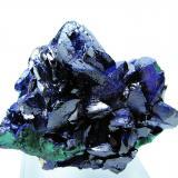 Azurite, malachite Milpillas Mine, Cuitaca, Mun. de Santa Cruz, Sonora, Mexico  65 mm x 61 mm x 45 mm (Author: Carles Millan)