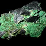Variscite, wavellite Lichtenberg open cast, Ronneburg, Thuringia, Germany 7,5 x 5 cm (Author: Andreas Gerstenberg)