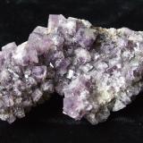 Fluorite<br />Frazer's Hush Mine, 295 level, Rookhope District, Weardale, North Pennines Orefield, County Durham, England, United Kingdom<br />9x5x3.5cm<br /> (Author: captaincaveman)