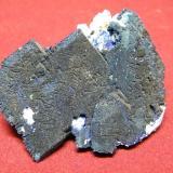 Azurite<br />Tsumeb Mine, Tsumeb, Otjikoto Region, Namibia<br />60x50mm<br /> (Author: Heimo Hellwig)