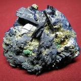 Azurite<br />Tsumeb Mine, Tsumeb, Otjikoto Region, Namibia<br />90x75mm<br /> (Author: Heimo Hellwig)