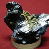 Azurite<br />Tsumeb Mine, Tsumeb, Otjikoto Region, Namibia<br />40x40mm<br /> (Author: Heimo Hellwig)
