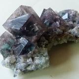 Fluorite (purple)<br />Hollywell Mine, Frosterley, Weardale, North Pennines Orefield, County Durham, England, United Kingdom<br />7x3.5x2.5cm 52g<br /> (Author: captaincaveman)