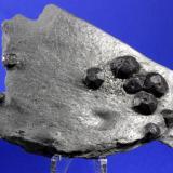 Almandine, Graphite<br />Red Embers Mine, Erving, Franklin County, Massachusetts, USA<br />11.1 x 8 cm<br /> (Author: Don Lum)