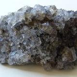 Fluorite<br />Skears Mine, Middleton-in-Teesdale, Teesdale, North Pennines Orefield, County Durham, England, United Kingdom<br />7.5x5.5x3 cm<br /> (Author: captaincaveman)