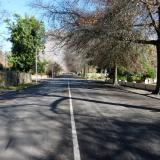 Typical road in town. (Author: Pierre Joubert)