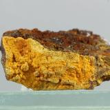 Bariofarmacosiderita<br />Mina Gold Hill, Gold Hill, Distrito Gold Hill, Condado Tooele, Utah, USA<br />26x15 mm<br /> (Autor: Juan Espino)