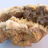 Calcita<br />Cantera Birrity, Arbouet-Sussaute, Pirineos Atlánticos, Nouvelle-Aquitaine, Francia<br />12 x 8 cm.<br /> (Autor: canada)