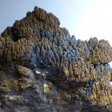 Limonita pseudo. Goethita<br />Mines Can Palomeres, Malgrat de Mar, Comarca Maresme, Barcelona, Catalunya, España<br />16x13cm<br /> (Autor: heat00)