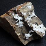 Barita<br />Mines Can Palomeres, Malgrat de Mar, Comarca Maresme, Barcelona, Catalunya, España<br />5 x 4 x 4 cm<br /> (Autor: karbu8)