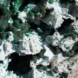 crisocola<br />Mina L'Etoile du Congo (Mina Estrella del Congo), Lubumbashi (Elizabethville), Cinturón de cobre de Katanga, Katanga (Shaba), Congo RD (Zaire)<br />16cm por 11cm<br /> (Autor: canada)