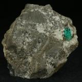 Beryl (variety emerald), Calcite, Pyrite<br />Chivor mining district, Municipio Chivor, Eastern Emerald Belt, Boyacá Department, Colombia<br />60x60mm<br /> (Author: Fiebre Verde)