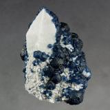 Fluorite on Quartz<br />Huanggang Mines, Hexigten Banner (Kèshíkèténg Qí), Ulanhad (Chifeng), Inner Mongolia Autonomous Region, China<br />83 x 58 x 50 mm<br /> (Author: GneissWare)
