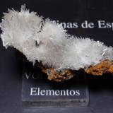 Yeso<br />Mina San Timoteo, Pico del Águila, Cartagena, Comarca Campo de Cartagena, Murcia, Región de Murcia, España<br />70x40 mm<br /> (Autor: Ignacio)