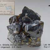 Sphalerite<br />Shiraita Mine, Uonuma, Niigata Prefecture, Chubu Region, Honshu Island, Japan<br />65 mm wide<br /> (Author: Roger Warin)