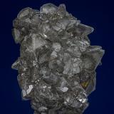 Calcite, Pyrite, Marcasite<br />Conco Mine, North Aurora, Kane County, Illinois, USA<br />8.0 x 6.5 cm<br /> (Author: am mizunaka)