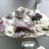 Fluorite<br />Tannenboden Mine, Wieden (Schwarzwald), Lörrach, Freiburg, Baden-Württemberg, Germany<br />Size approx. 30 cm<br /> (Author: Tobi)