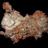 Copper, nativeReichenbach, Lautertal (Odenwald), Bergstraße, Odenwald, Hesse/Hessen, Alemania10,5 x 8 x 1,5 cm (Author: Andreas Gerstenberg)