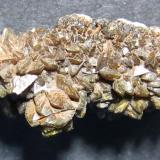 Descloizita<br />Mina Tsumeb, Tsumeb, Región Otjikoto, Namibia<br />35 x 25 mm.<br /> (Autor: prcantos)