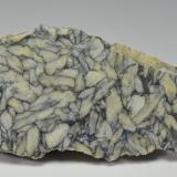 Magnesite (var. pinolite)<br />Magnesite deposit, Sunk, Niedere Tauern, Styria/Steiermark, Austria<br />10.2 x 4.7 cm<br /> (Author: Martin Rich)