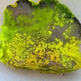 Phurcalite and Autunite<br />Senhora da Assunção Mine, Aldeia Nova, Ferreira de Aves, Sátão, Viseu District, Portugal<br /><br /> (Author: Cesar M. Salvan)
