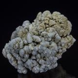 Barite, Calcite<br />Rock Island Road road cut, Gouverneur, St. Lawrence County, New York, USA<br />5.3 x 4.5 cm<br /> (Author: am mizunaka)