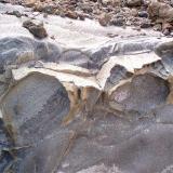 _Decapado de la colada de tefrifonolita Punta Camello. Gran Canaria. España (Autor: María Jesús M.)
