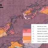 _Zonas de Barrow en el Manto de La Plata (Granada, España) Elaborado a partir de la hoja 1010 del MAGNA50 (2a. ed.), IGME 1978. (Autor: prcantos)