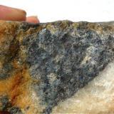 Muestra 3, alternancia de minerales en la zona de pegmatitas. O´Grove. Pontevedra. España. (Autor: María Jesús M.)