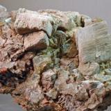 Calcita y Fluorita Mines de Sant Marçal - Montseny - Viladrau - Osona - Girona - Catalunya - España 55 x 37 x 25 mm Colección y Fotografía de Joan Martinez Bruguera (Autor: Joan Martinez Bruguera)