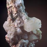 Calcita & Fluorita Mines de Sant Marçal - Montseny - Viladrau - Osona - Girona - Catalunya - España 70 x 36 x 32 mm Colección y Fotografía de Joan Martinez Bruguera (Autor: Joan Martinez Bruguera)