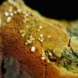 Wulfenita Mina de Benahadux - Benahadux - Almeria - Andalucía - España 32 x 30 x 18 mm Colección y Fotografía de Joan Martinez Bruguera (Autor: Joan Martinez Bruguera)