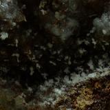 Estroncianita<br />Pulpí, Comarca Levante Almeriense, Almería, Andalucía, España<br />Campo de visión de 40 x 30 mm<br /> (Autor: Antonio Carmona)