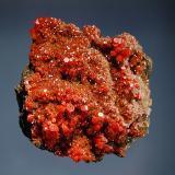 VanadiniteMina Pure Potential, Distrito Silver, Montes Trigo, Condado La Paz, Arizona, USA6.0 x 6.3 cm (Author: crosstimber)
