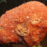 Cuarzo (variedad hematoideo)<br />Afloramiento del Keuper, Chella, Comarca Canal de Navarrés, València / Valencia, Comunitat Valenciana, España<br />4 x 2''6 cm<br /> (Autor: phrancko)