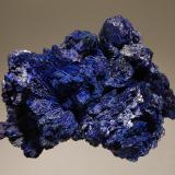 Azurite<br />Nchanga Mine, Chingola, Zambia<br />5.0 x 7.5 cm<br /> (Author: crosstimber)