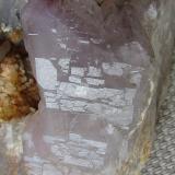 Cuarzo (variedad cuarzo amatista)<br />Pedrera Mas Sever, Massabè (Mas Ceber), Sils, Comarca La Selva, Girona/Gerona, Catalunya, España<br /><br /> (Autor: phrancko)