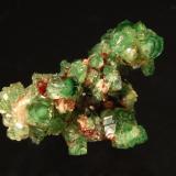 Grossular<br />Jeffrey Mine, Asbestos, Les Sources RCM, Estrie, Québec, Canada<br />1.5 x 2.0 cm<br /> (Author: Michael Shaw)