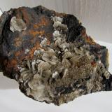 Barita.<br />Mines Can Palomeres, Malgrat de Mar, Comarca Maresme, Barcelona, Catalunya, España<br />13''5 x 12''3 cm.<br /> (Autor: phrancko)