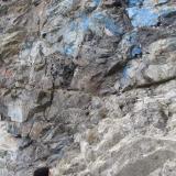 Aerinita in situSoriana Quarry, El Prat, Soriana, Estopiñán del Castillo, Comarca de la Ribagorza, Huesca, Aragon, Spain (Autor: Manuel Baquero)