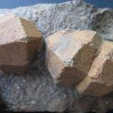 pseudoleucite<br />Loucná, Ostrov, Krušné Hory Mountains, Karlovy Vary Region, Bohemia, Czech Republic<br />FOV 8 cm.<br /> (Author: prcantos)